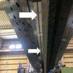 押出機Tダイ樹脂スリット部のひずみと温度の詳細分布計測